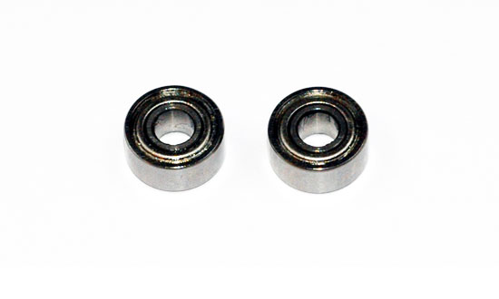 Roulements 3.17 mm série 22 (2 pcs)