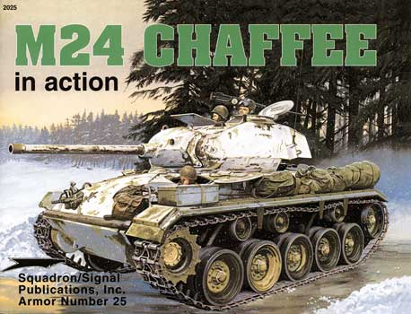 M24 CHAFFEE IN ACTION