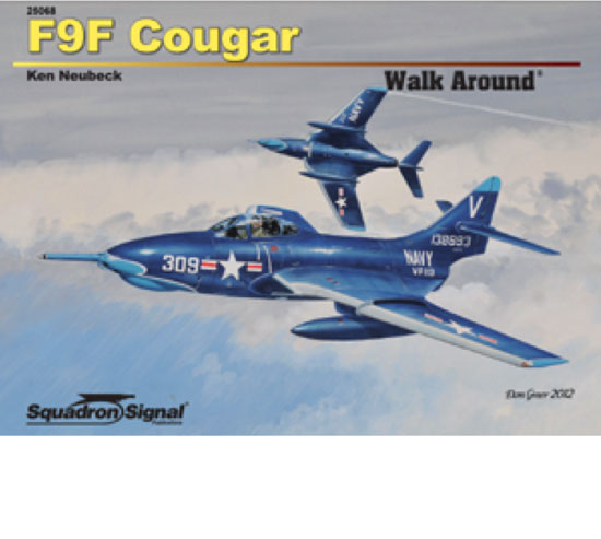 F9F COUGAR WALK AROUND