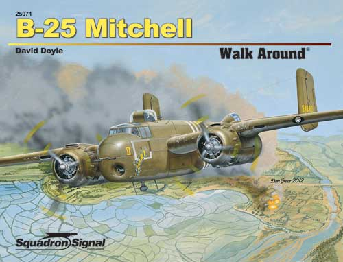 B-25 MITCHELL WALK AROUND