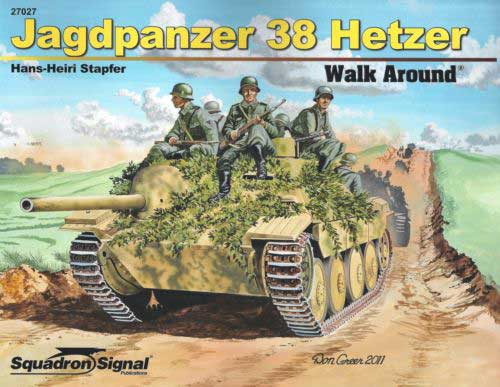 JAGDPANZER 38 HETZER WALK AROUND