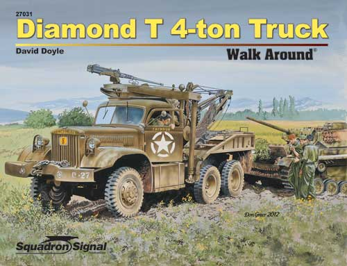 DIAMOND T4 TON TRUCK WALK AROUND