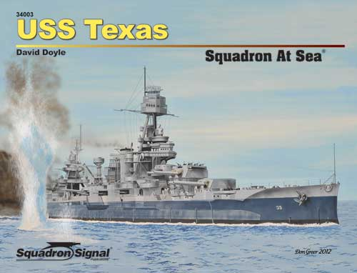 USS TEXAS SQUADRON AT SEA