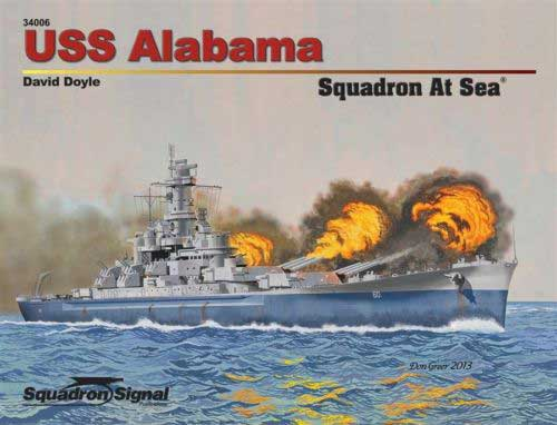 USS ALABAMA AT SEA