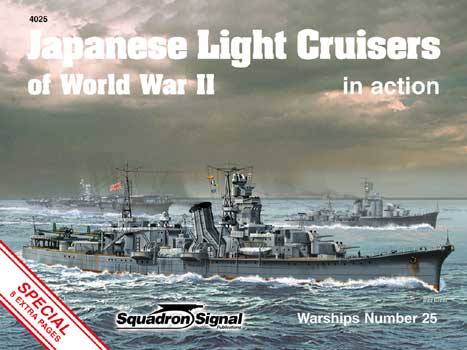 JAPANESE LIGHT CRUISERS IN ACTION