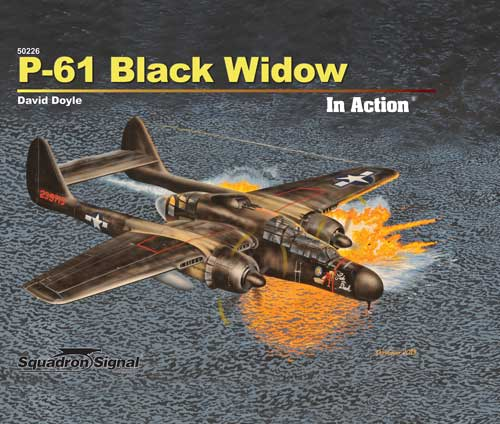 P-61 BLACK WIDOW IN ACTION