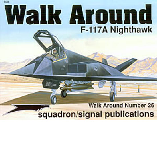 F-117 NIGHTHAWK WALK AROUND