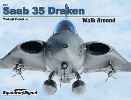 SAAB 35 DRAKON WALK AROUND