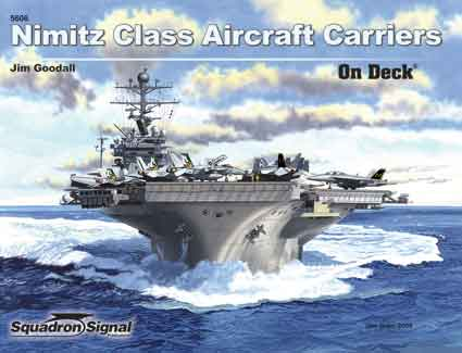 NIMITZ CLASS CARRIER ON DECK