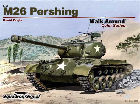M26 PERSHING COLOR WALK AROUND