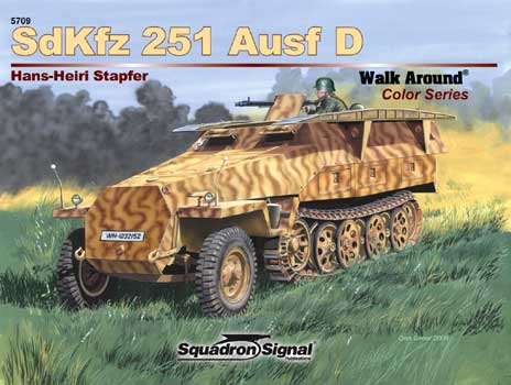 SDKFZ 251 Ausf D COLOR WALK AROUND