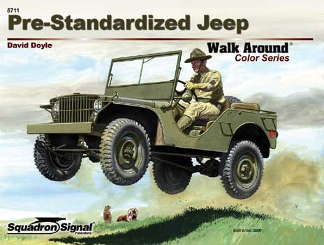 PRE-STANDARIZED JEEP COLOR WALK AROUND