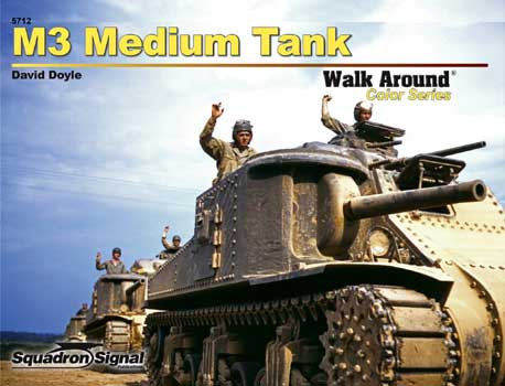 M3 MEDIUM TANK COLOR WALK AROUND
