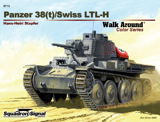 PANZER 38T COLOR Walkaround
