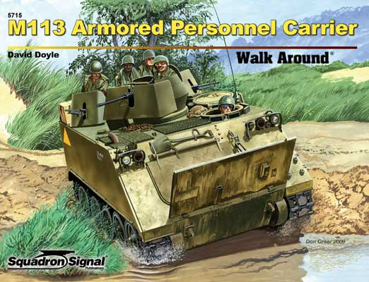 M113 APC COLOR Walkaround