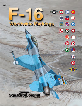 WORLDWIDE F-16 MARKINGS