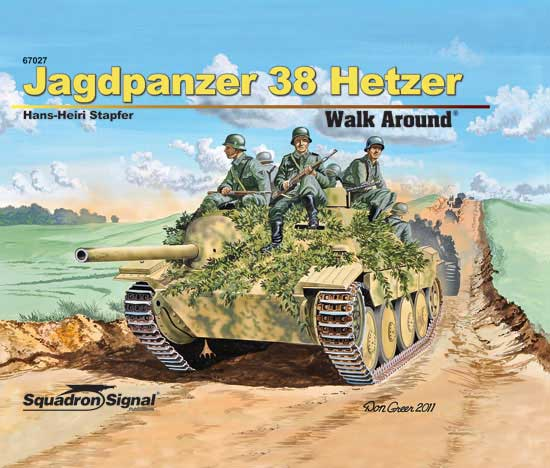 JAGDPANZER 38 HETZER - WALK AROUND - Harbound Cover