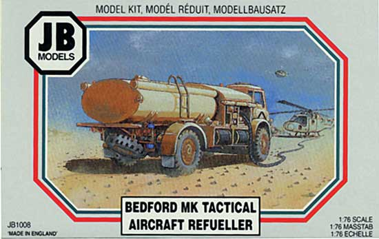 BEDFORD MK TACTICAL AIRCRAFT REFUELLER 1/76