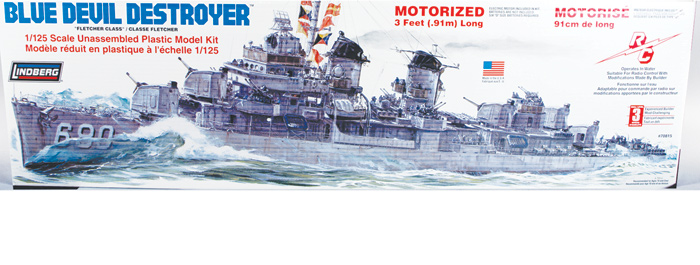 Blue Devil Destroyer 1/125