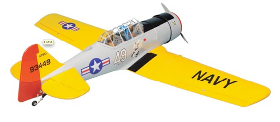AT-6 TEXAN 40/52 ARF