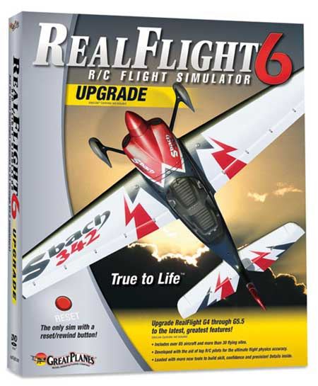 UPGRADE REALFLIGHT G6