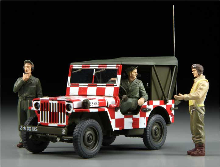 FOLLOW ME Jeep Willys MB 1/48