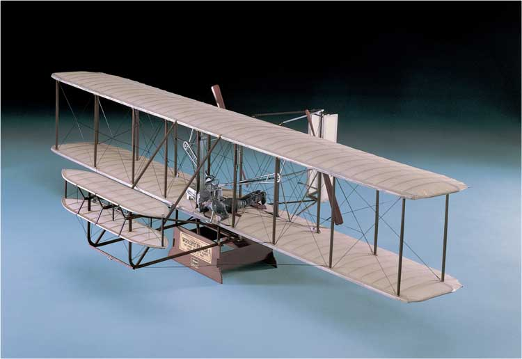 WRIGHT FLYER I MUSEUM    1/16