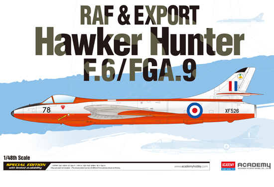RAF & Export H. Hunter 1/48