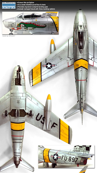 F-86F Sabre Korean war 1/72