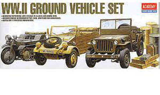 GROUND VEHICULE SET 1/72