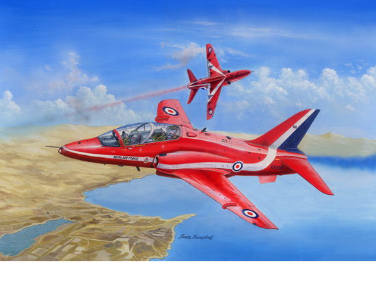 Red Arrows Hawk 1/48