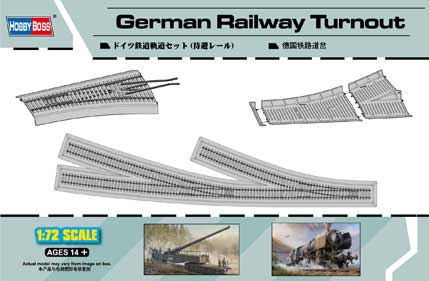 GERMAN RAILWAYS TURNOUT 1/72
