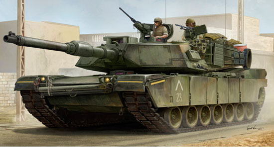 US M1A1 AIM MBT