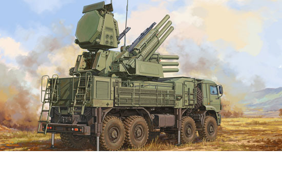 Russian 72V6E4 Combat Unit of 96K6 Pantsir-S1 1/35