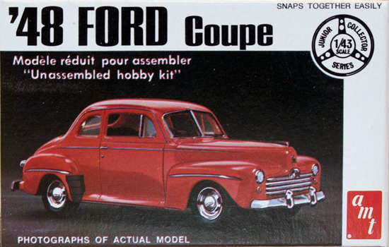 Ford Coupe 1948 1/43