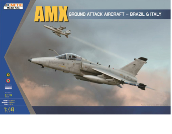 AMX G. Attack Aircraft 1/48