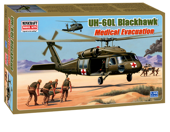 UH-60L Blackhawk Medivac 1/48
