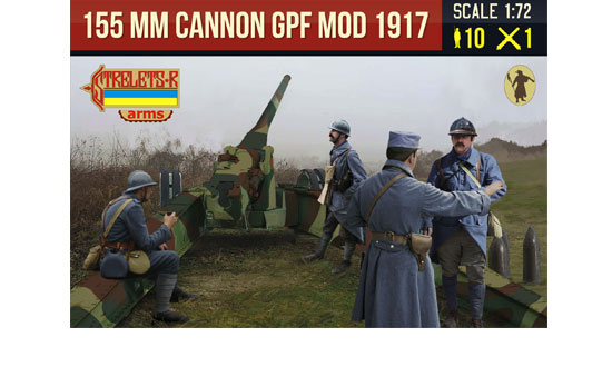 155mm cannon GPF mod 1917
