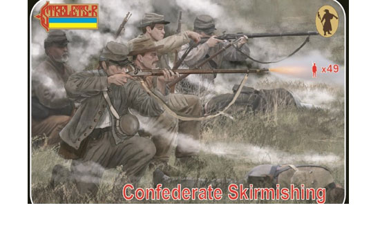 Confederates Skirmishing