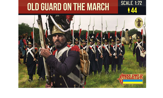 Old Guard on the March Napoleonic