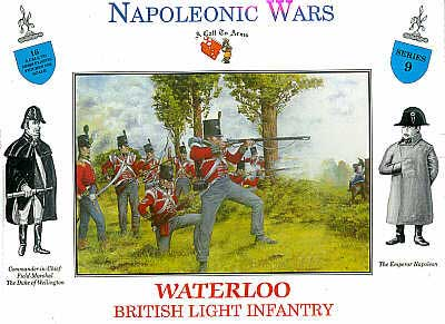 INF LEGERE BRIT. WATERLOO 1/32