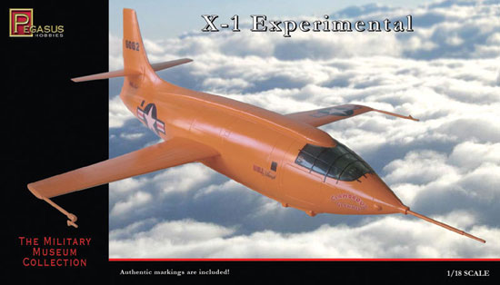 Bell X1 Supersonic Rocket 1/18