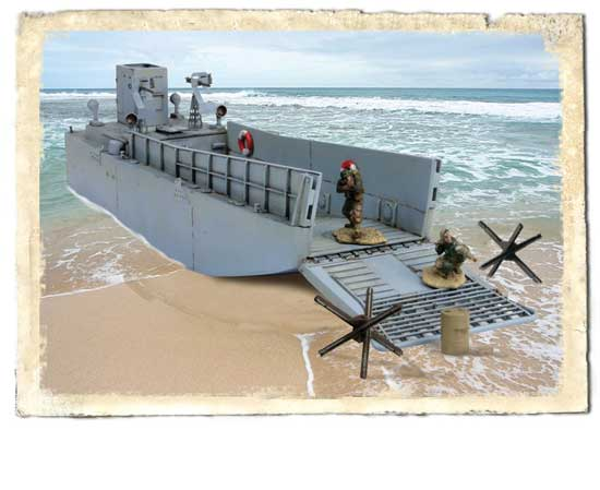 US Landing Craft 1/72