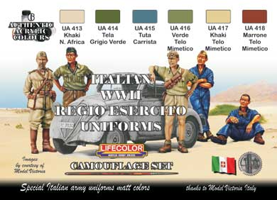 SET UNIFORMES ITALIENS WWII
