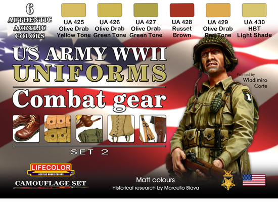 UNIFORMES US WWII SET 2