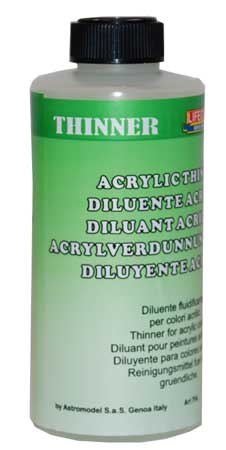 THINNER 250 mL LIFECOLOR