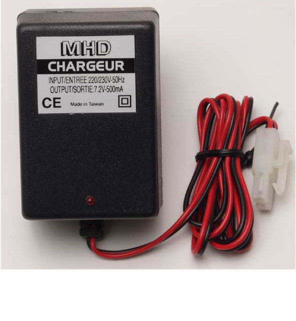 Chargeur Accu 7.2V Eco