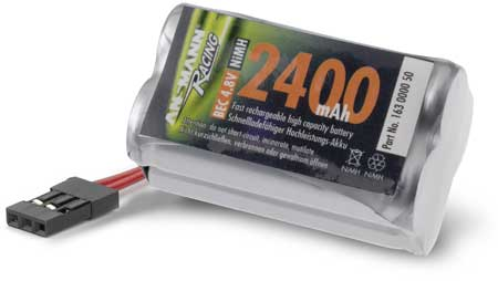 ACCU RECEPTION 4,8V 2400mAh JR