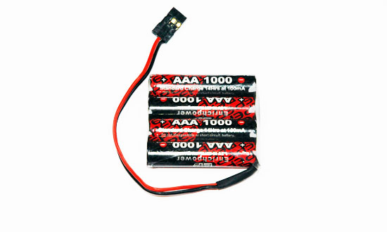 PACK Rx S 4.8V/AAA-1000JR