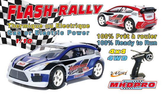Flash Rally GP RTR 1/10